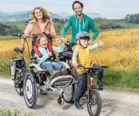 Vacances au camping – pour personnes à mobilité réduite également