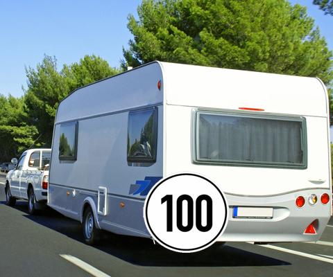 100 km/h avec remorque sur les autoroutes allemandes