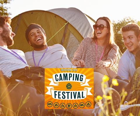 Erstes TCS Camping Festival der Schweiz
