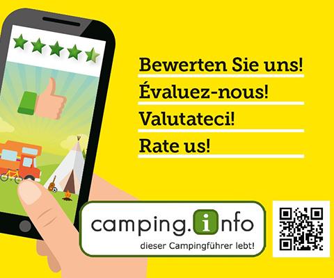 TCS Campingplätze bewerten