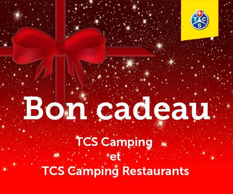 Bon cadeau TCS Camping