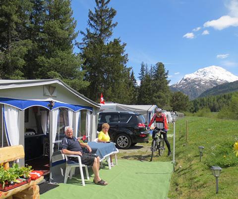 Camping longue durée