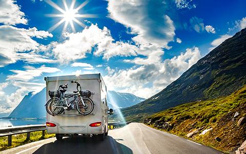TCS Camper und Wohnwagen Versicherung
