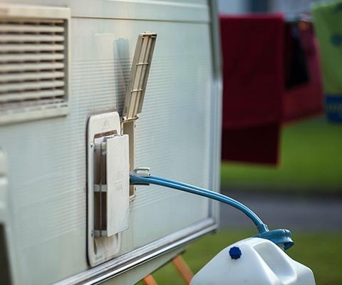 L'eau potable – dans les caravanes et les camping-cars