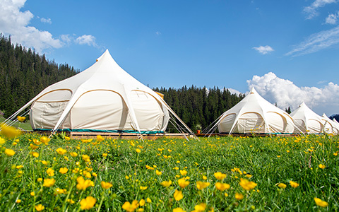 TCS Pop-up Glamping Dorf