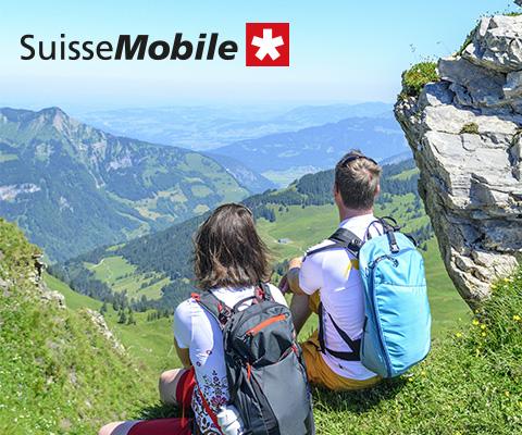 Schweizmobil.ch, le réseau de la mobilité douce