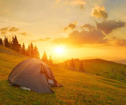Campeggio libero in Svizzera - permesso o proibito