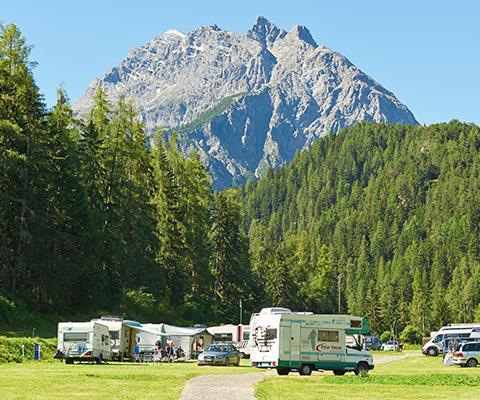 Vacanze in campeggio in montagna