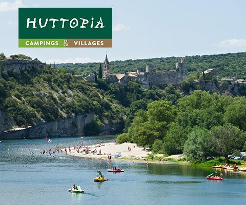 Scoprite i campeggi Huttopia in Francia