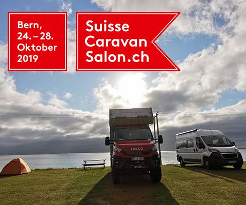 52. Suisse Caravan Salon in Bern