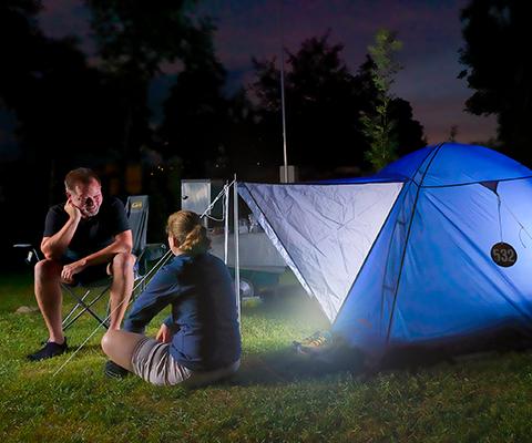 Der Camping-Trend hält an
