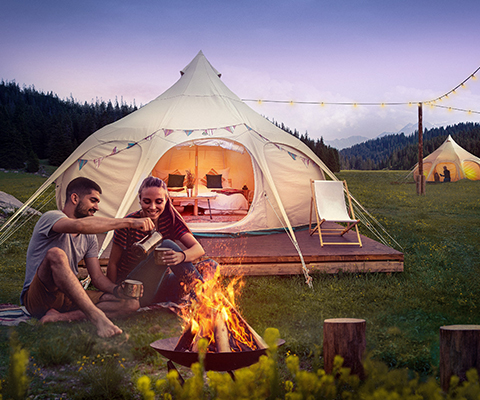 Offrir les joies du camping