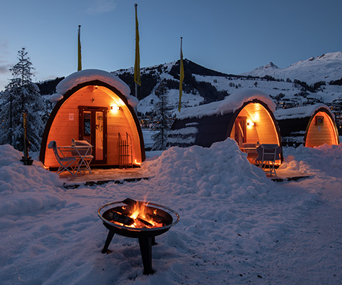 Offres de camping d'hiver saison 2020