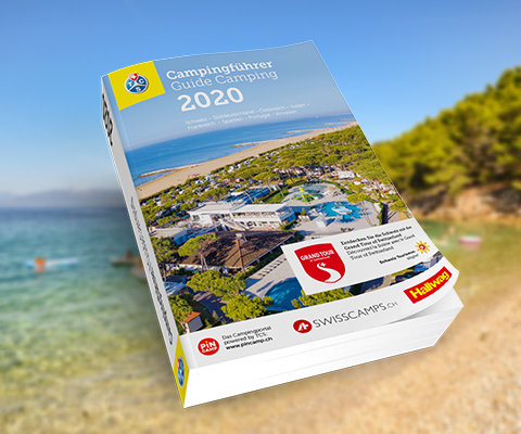 Le Guide TCS Camping Suisse et Europe 2020