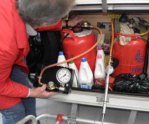 Caravan Gas Control du TCS