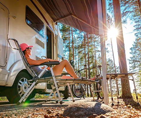 Wohnwagen und Wohnmobil ABC