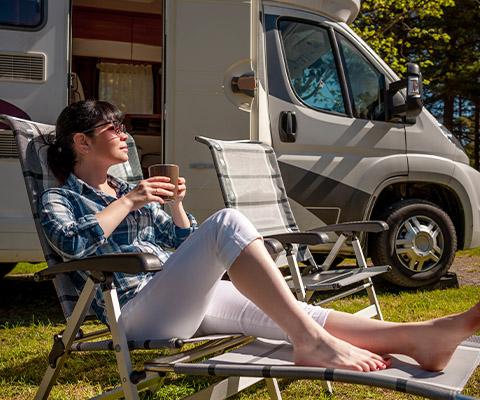 Late Check-Out für TCS Camping Mitglieder auf TCS Campingplätzen