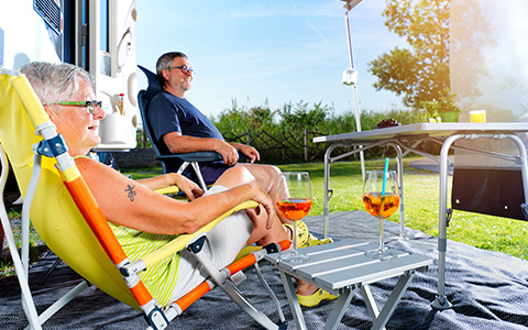 TCS Camping Mitgliedschaft