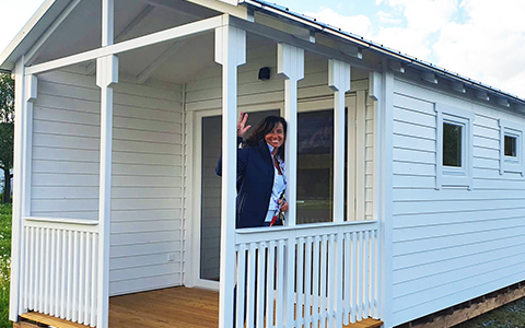 Neue Chalets Deluxe von TCS Camping
