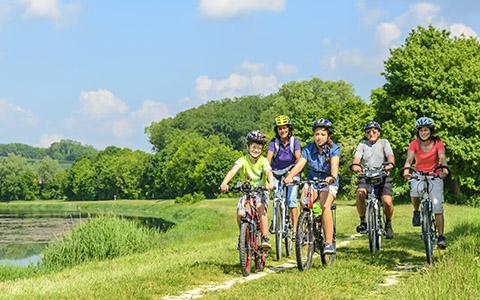 Rent a Bike-Vermietstationen auf TCS Campings