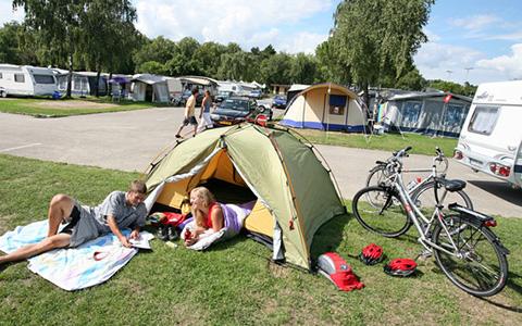 Die ersten Campingferien mit Zelt?