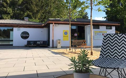 TCS Camping Gwatt Thunersee in neuem Kleid eröffnet