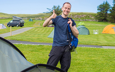 TCS Camping Knigge