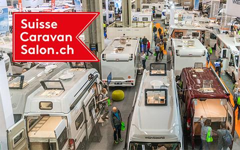 Assister gratuitement au Caravan Salon à Berne