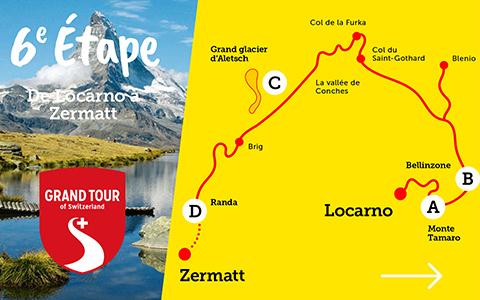 Camping – Grand Tour de Suisse – 6e et 7e étapes