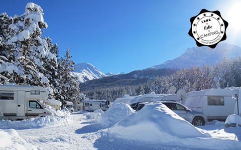 Winterfestes Campingfahrzeug