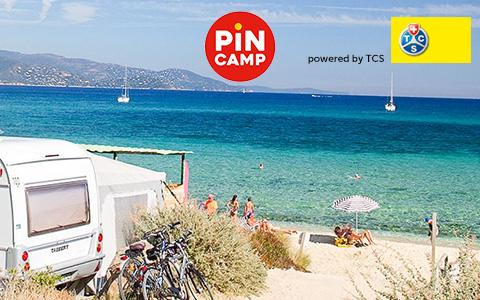 TCS Campingführer online