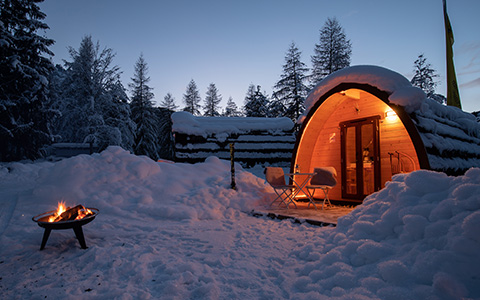 Wintertraum Camping - TCS Camping Scuol
