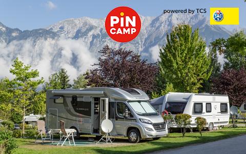 Campingplätze in den Alpen