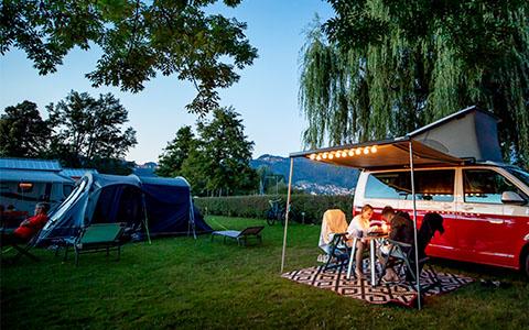 Camping im Frühling – bis 20% Rabatt
