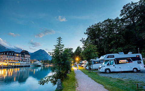 TCS Campingplätze
